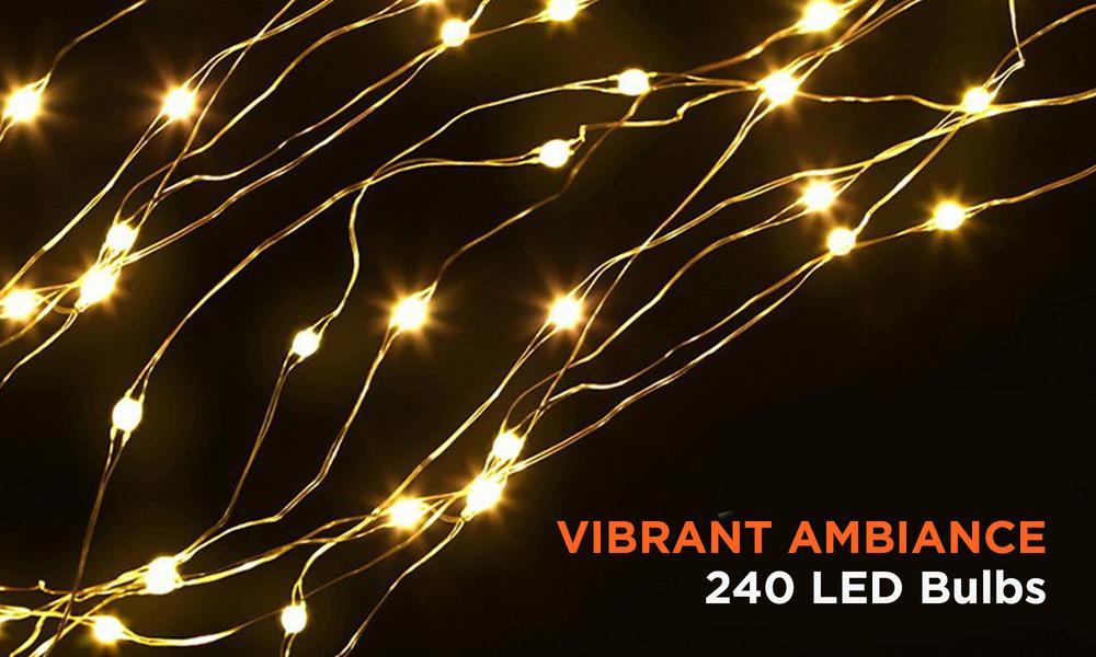 Jingle jollys 1.5m led christmas willow tree 240 led xmas warm white optic fiber   web5