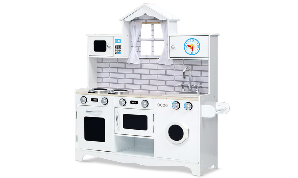 White   keezi kids kitchen play set   web1