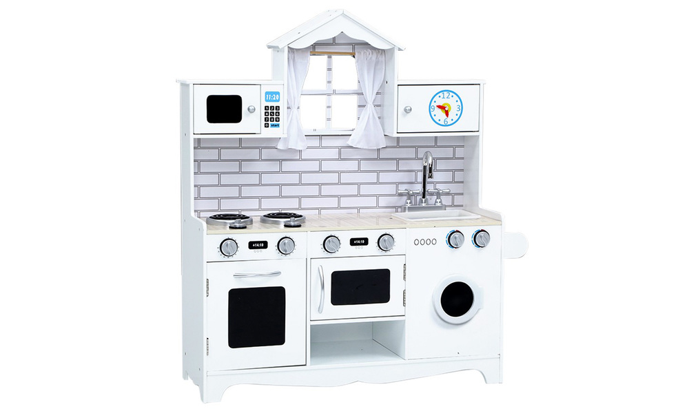 White   keezi kids kitchen play set   web3