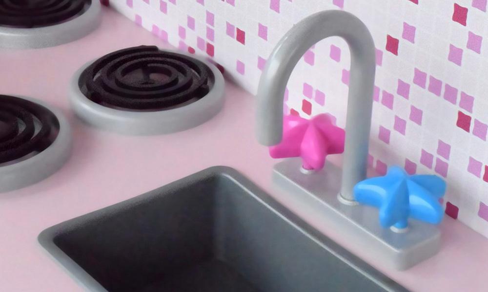 Pink red   keezi kids kitchen play set   web6