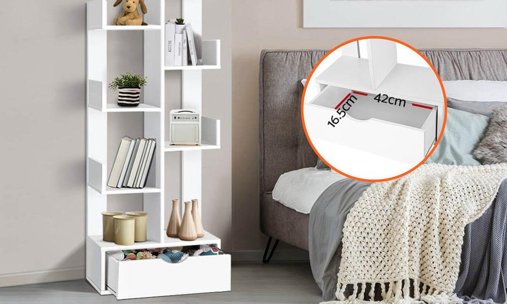 Artiss wooden tree storage shelf   web4