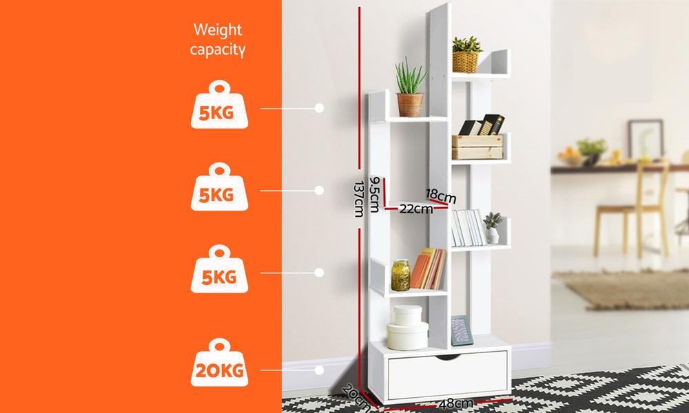 Artiss wooden tree storage shelf   web5