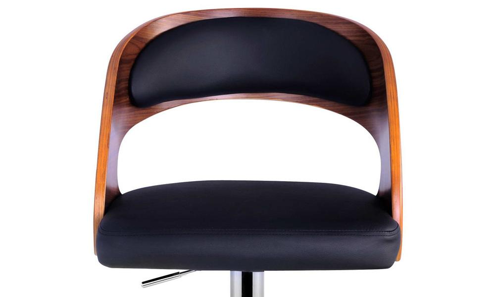 Black   artiss wooden gas lift bar stool   web6