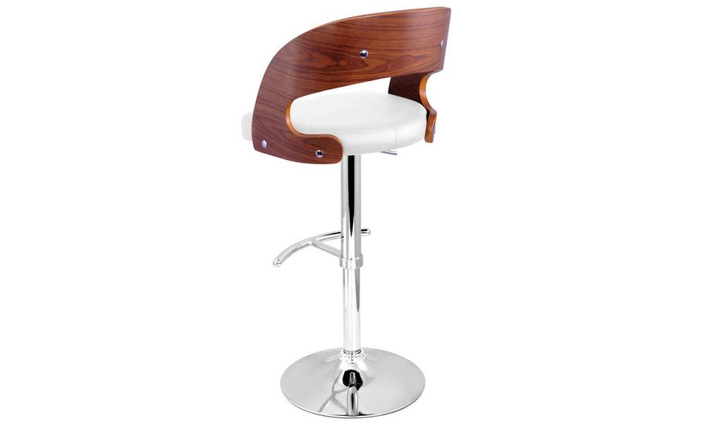 White   artiss wooden gas lift bar stool   web5