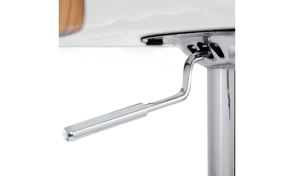 White   artiss wooden gas lift bar stool   web7