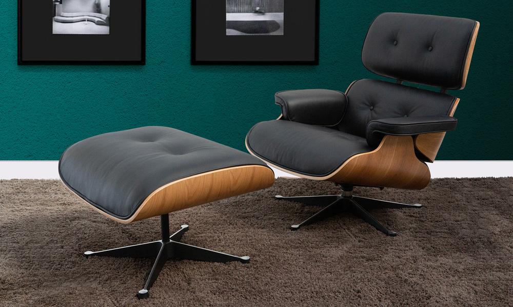 Blonde   replica eames lounge chair   ottoman   web1