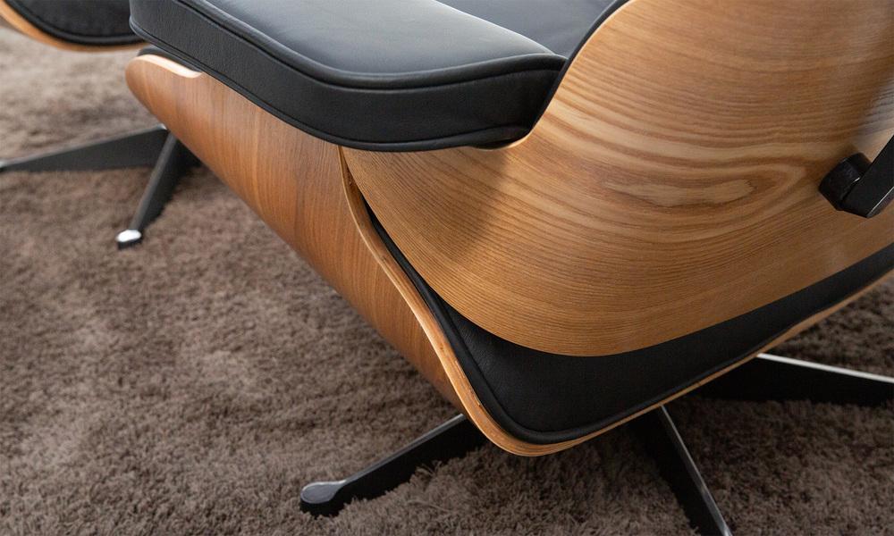 Blonde   replica eames lounge chair   ottoman   web7