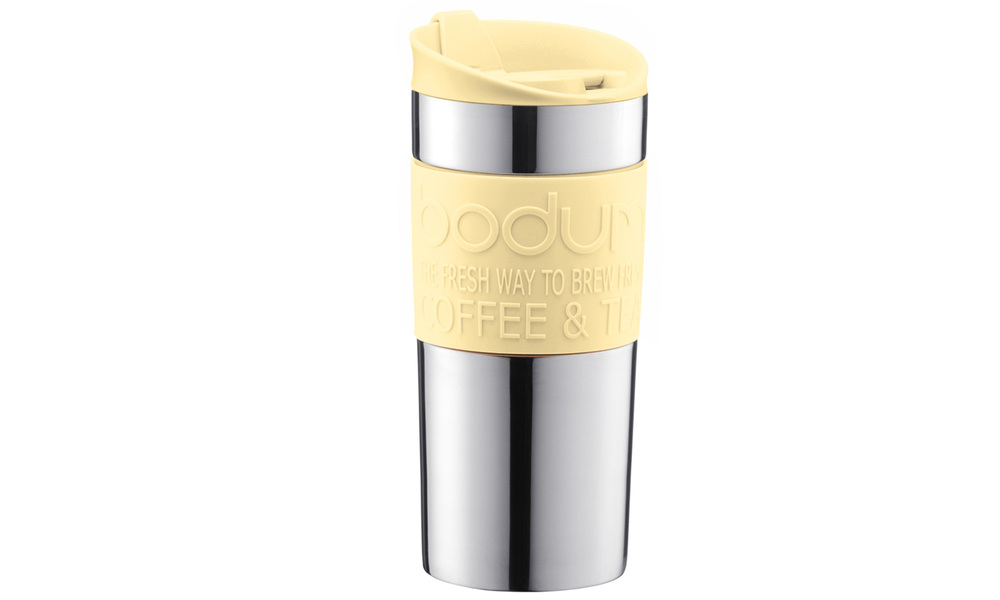Yellow   bodum double wall travel mug %28stainless steel%29   web2