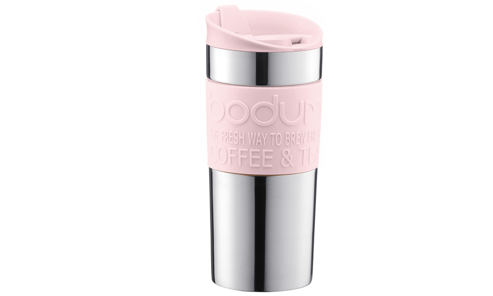 Pink   bodum double wall travel mug %28stainless steel%29   web1