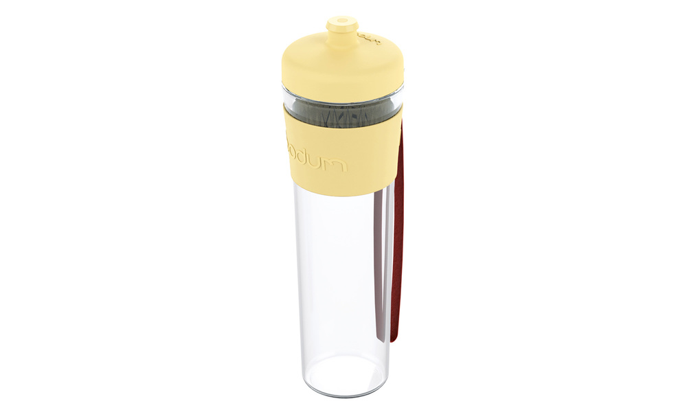 Yellow   bodum single wall drink bottle   web1