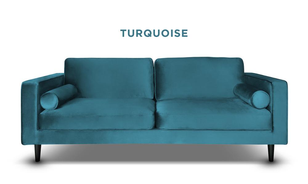 Turquoise   hendrix velvet 3s sofa   web1