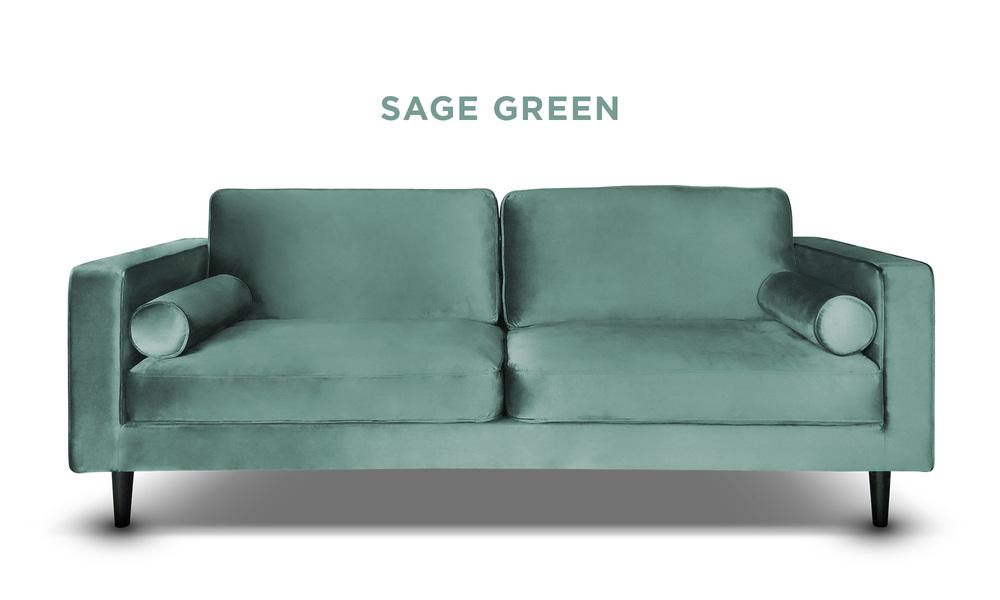 Sage green   hendrix velvet 3s sofa   web1