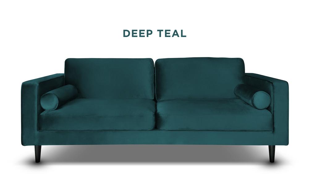 Deep teal   hendrix velvet 3s sofa   web1