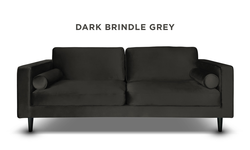 Dark brindle grey   hendrix velvet 3s sofa   web1