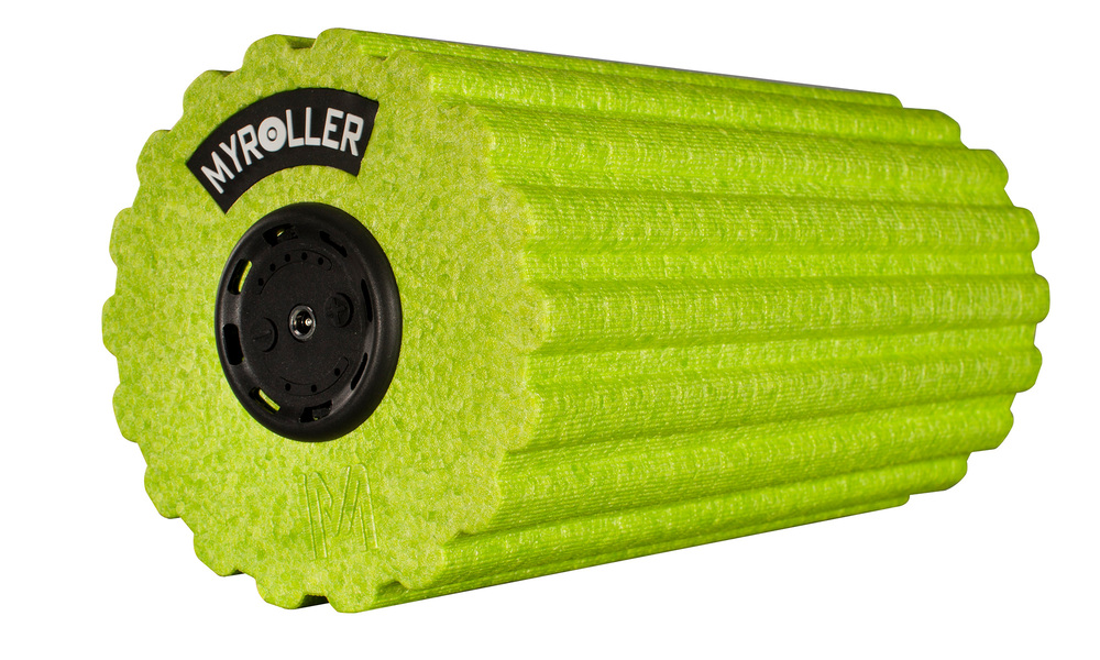 Green   vibrating fitness roller 5 speed   web1