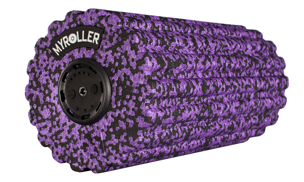 Purple   vibrating fitness roller 5 speed   web1