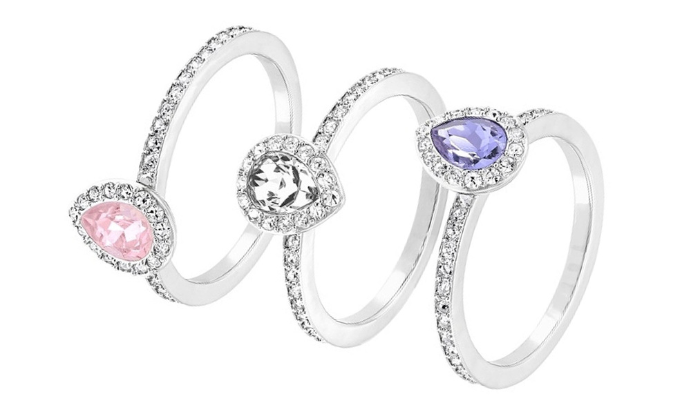 1665   swarovski  christie  ring set   web1