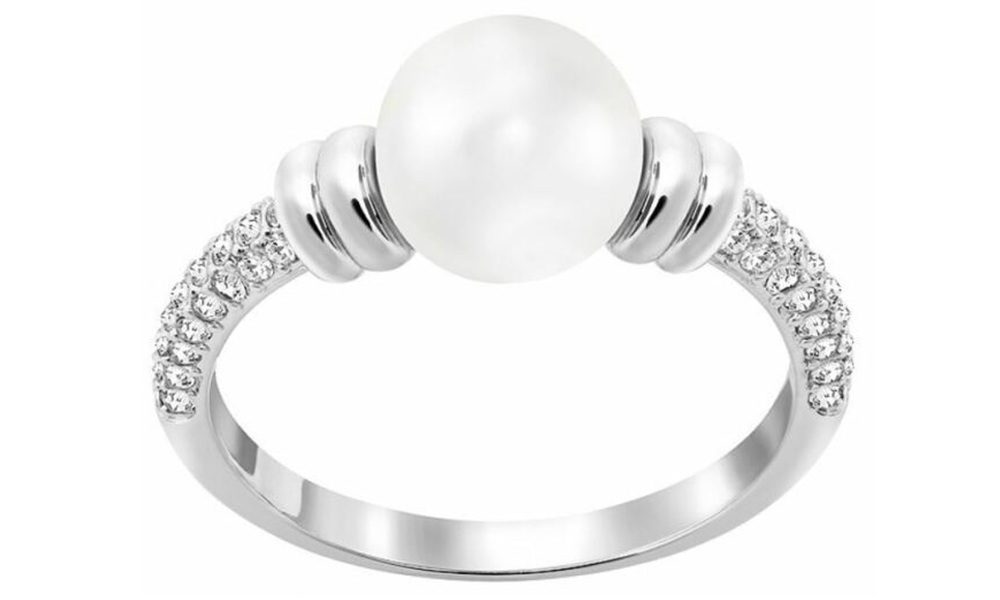1663   swarovksi contemporary pearl ring   web1 %281%29