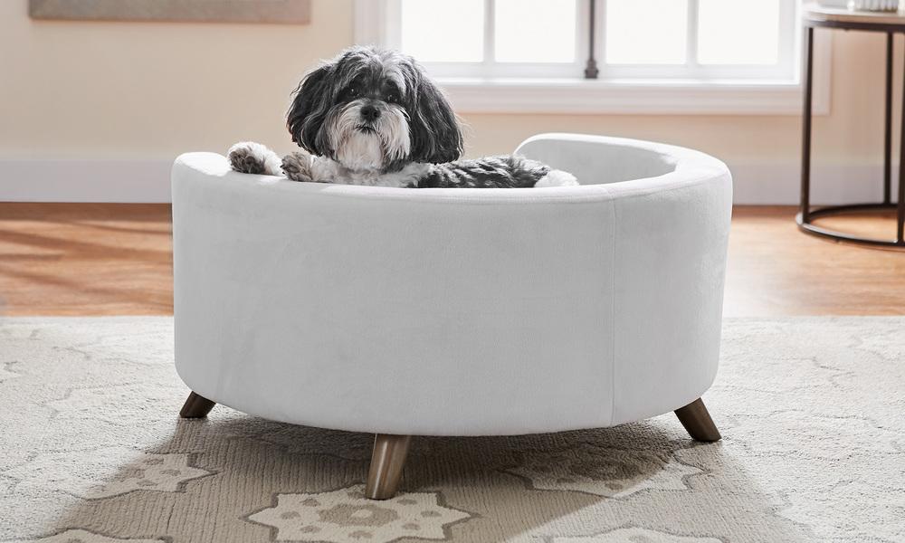 Grey   bella dog sofa   web3 %281%29