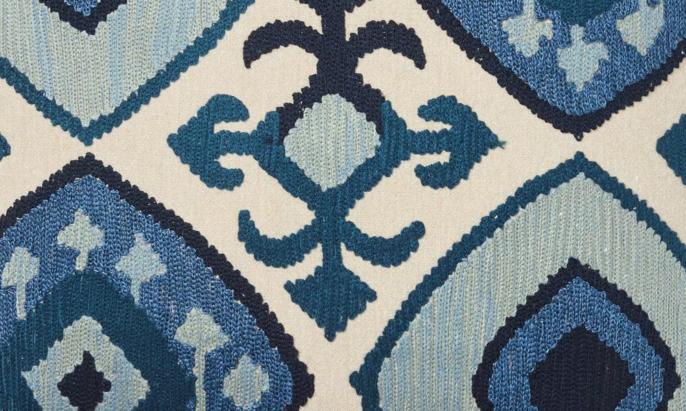 Kazu embroidered cushion   web2