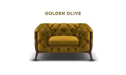 Golden olive   diablo velvet button armchair   web1