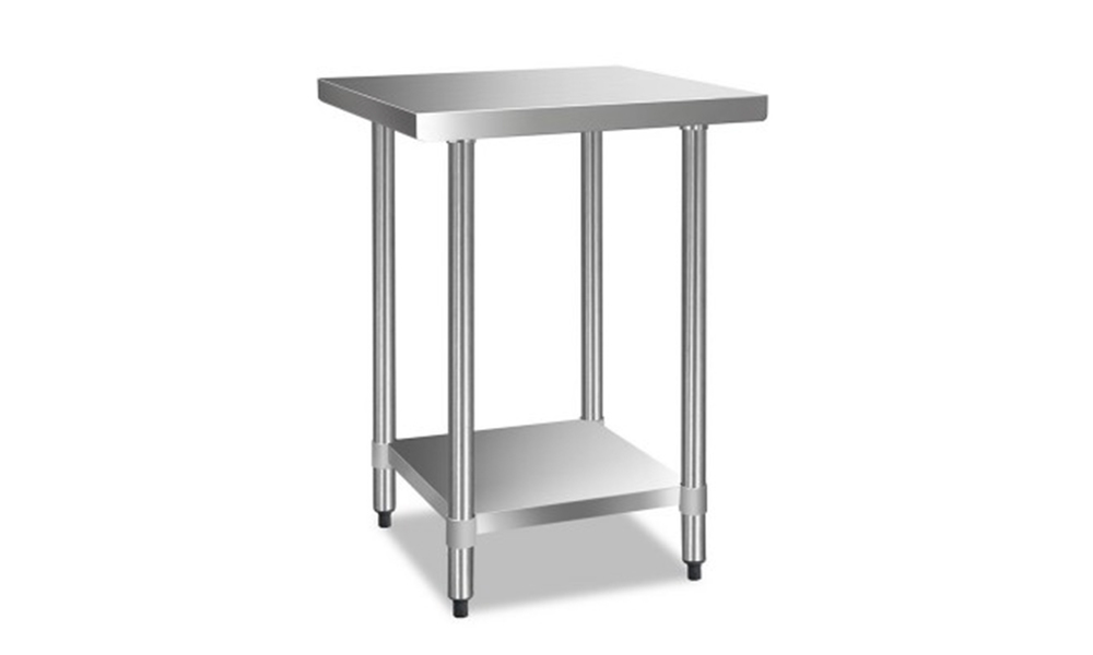 stainless steel kitchen bench 610 x 610mm  web1