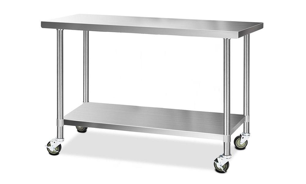 1.5m stainless steel kitchen cart   web1