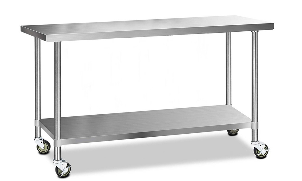 1.8m stainless steel kitchen cart   web1