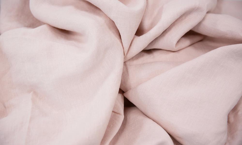 Dusky pink   linen duvet   web4