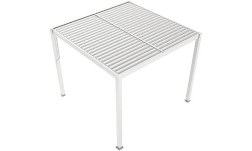 White   aluminium pergola   web1