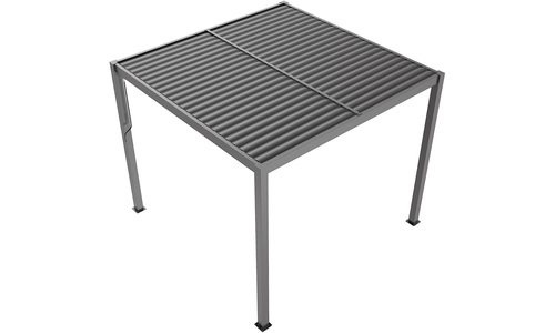 Grey   aluminium pergola   web1