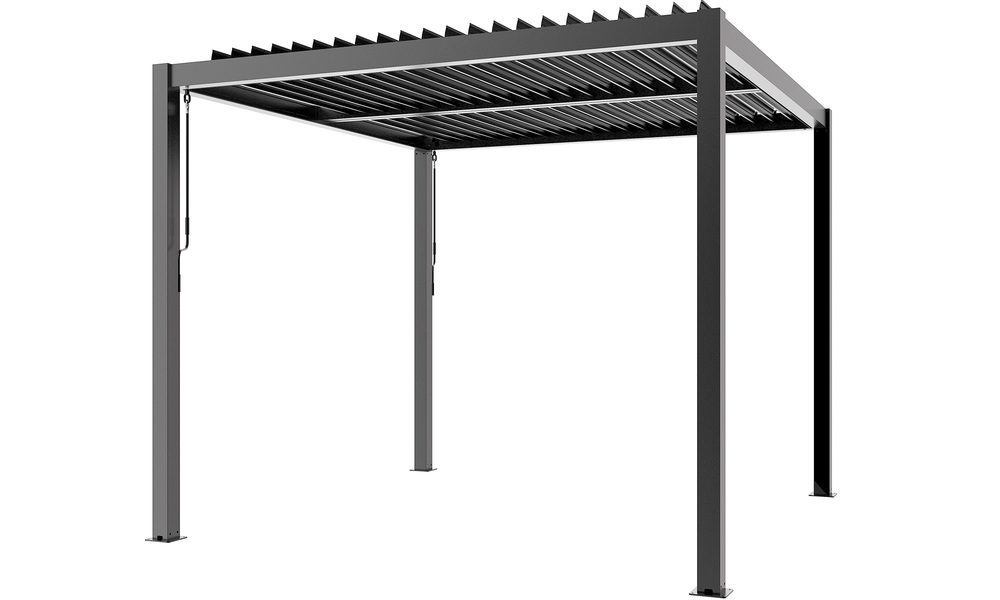Grey   aluminium pergola   web2