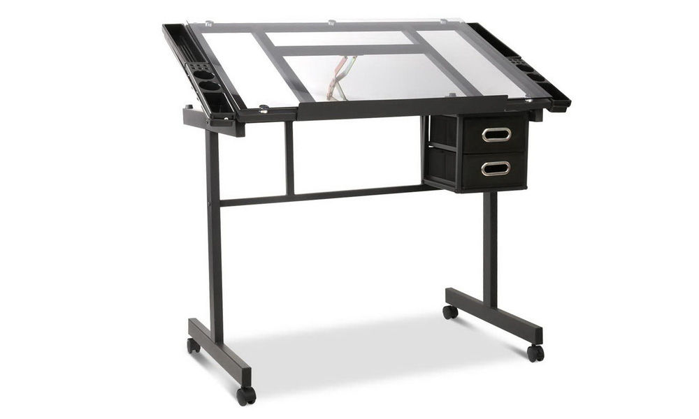 Artiss adjustable drawing desk    web1