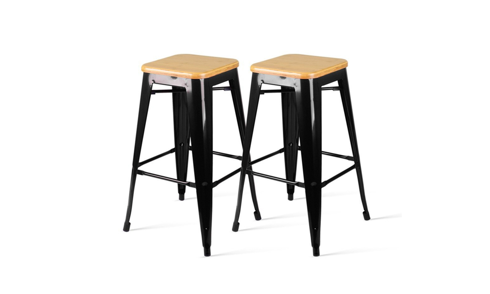 Artiss backless bar stool   web1