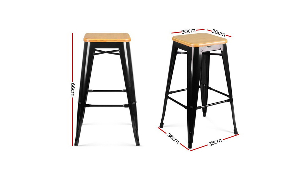 Artiss backless bar stool   web2