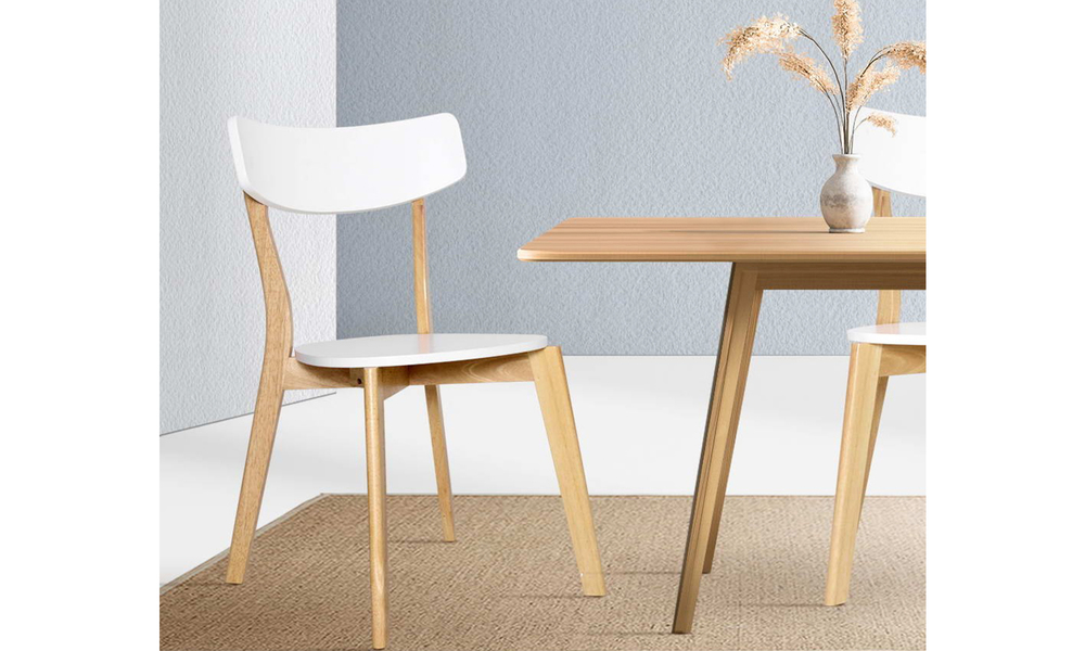 artiss rubber wood dining chairs set of 2   web1