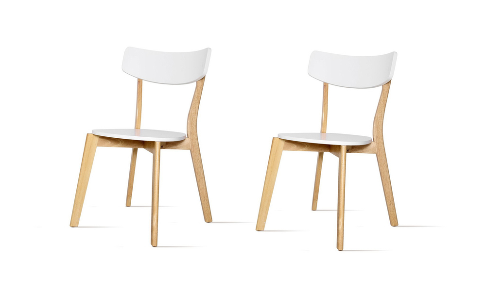 Artiss rubber wood dining chair set of 2   web2