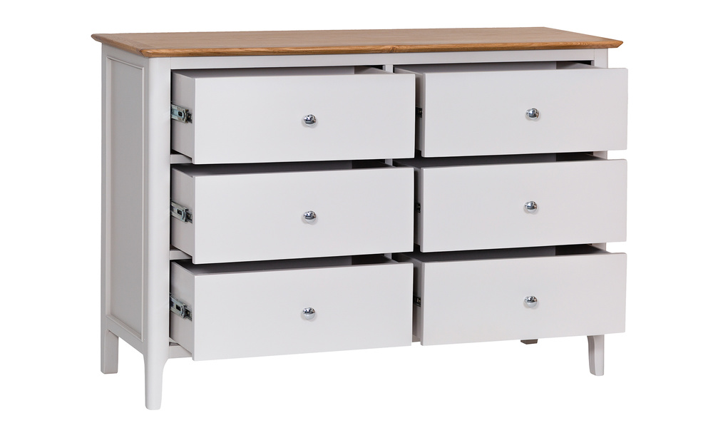 Hamptons 6 drawer chest   web3