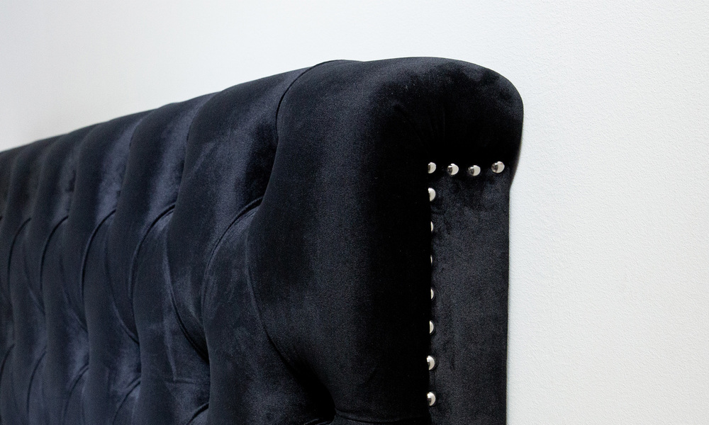 Black   kingston velvet tufted headboard   web3