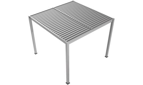 Matte grey   aluminium pergola   web 1