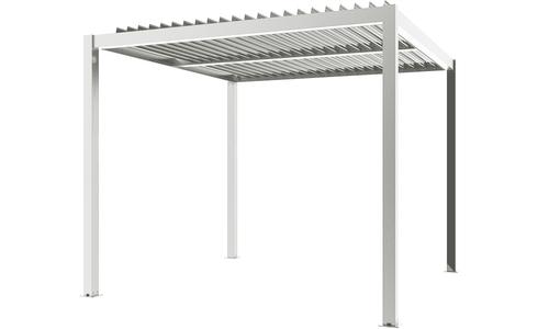 Matte white   aluminium pergola   web 2