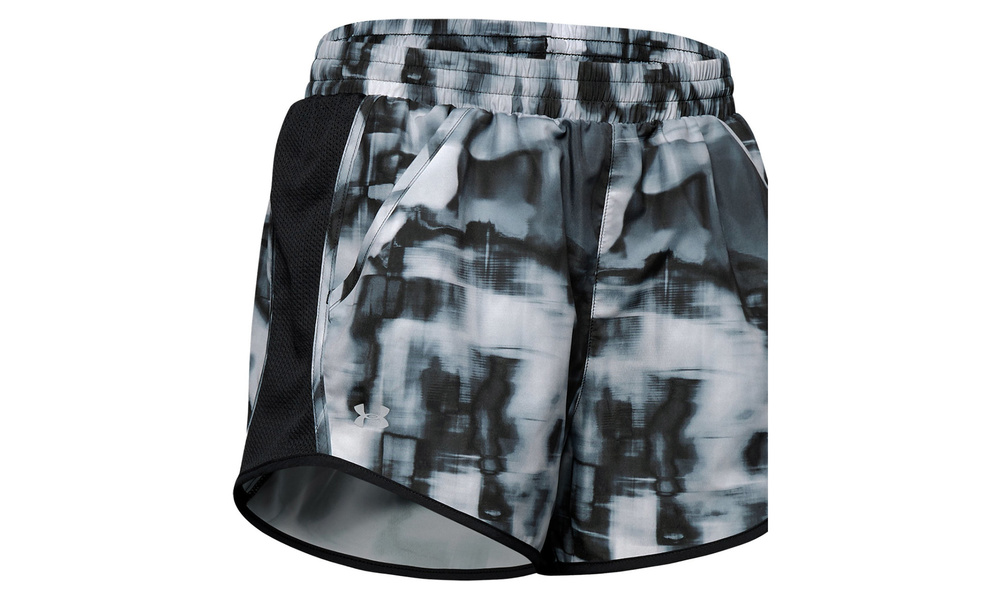 under armour fly by printed shorts   web1