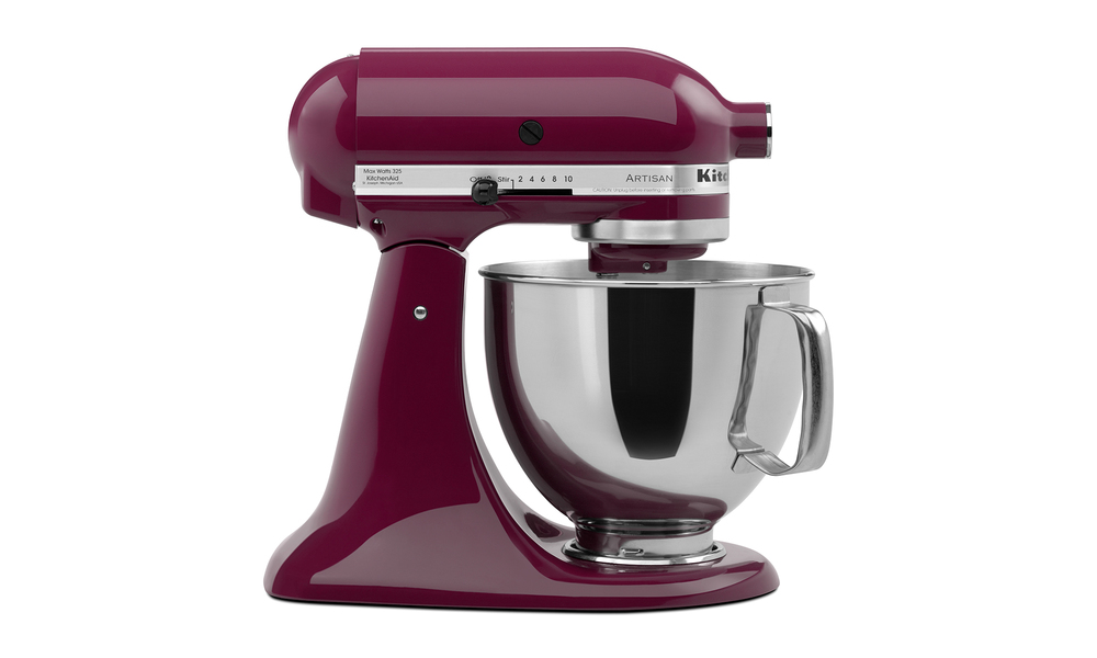 Purple kitchenaid 4.8l artisan tilt head stand mixer  web3