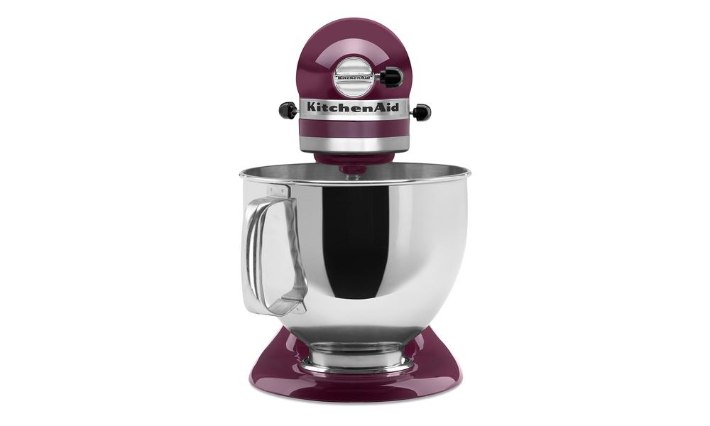 Purple kitchenaid 4.8l artisan tilt head stand mixer  web4
