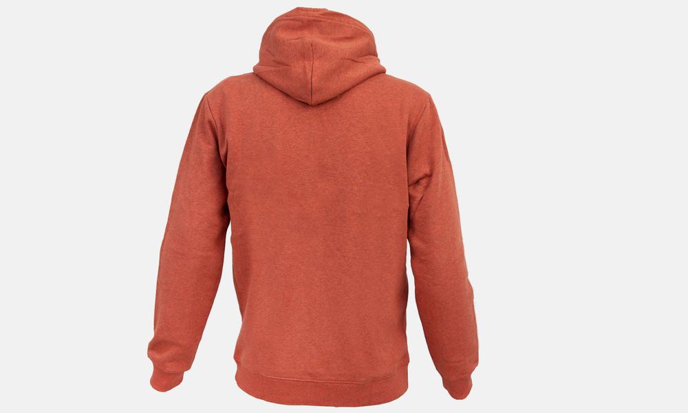 Biglogo hoodie orange marle black  web2