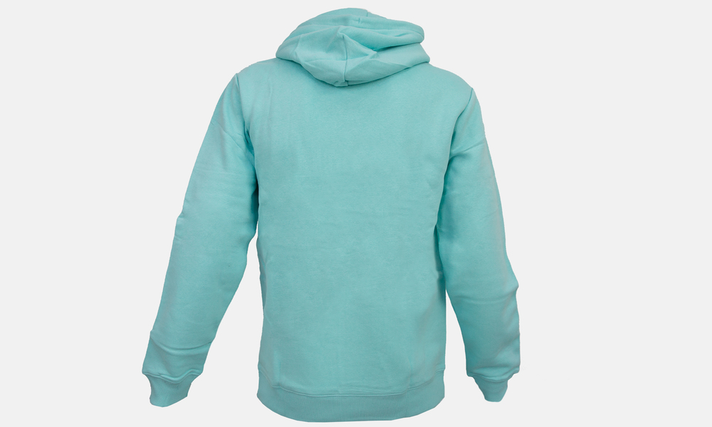Biglogo hoodie aqua dark blue   web2