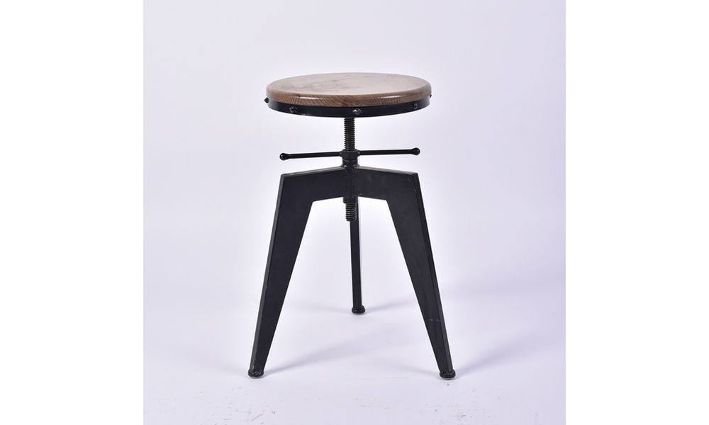Industrial Screw Top Stool. The Retro Classic. 2.001