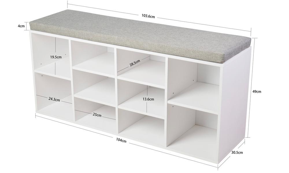 Shoe storage bench   1736   web3