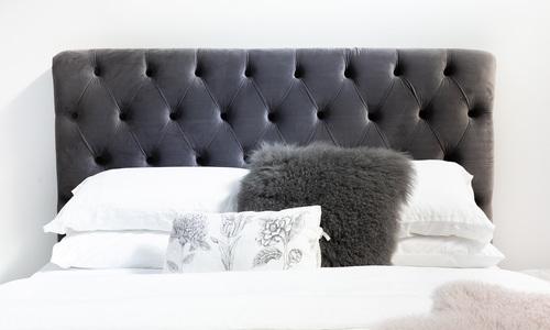 Slate grey   kingston velvet tufted headboard   web1