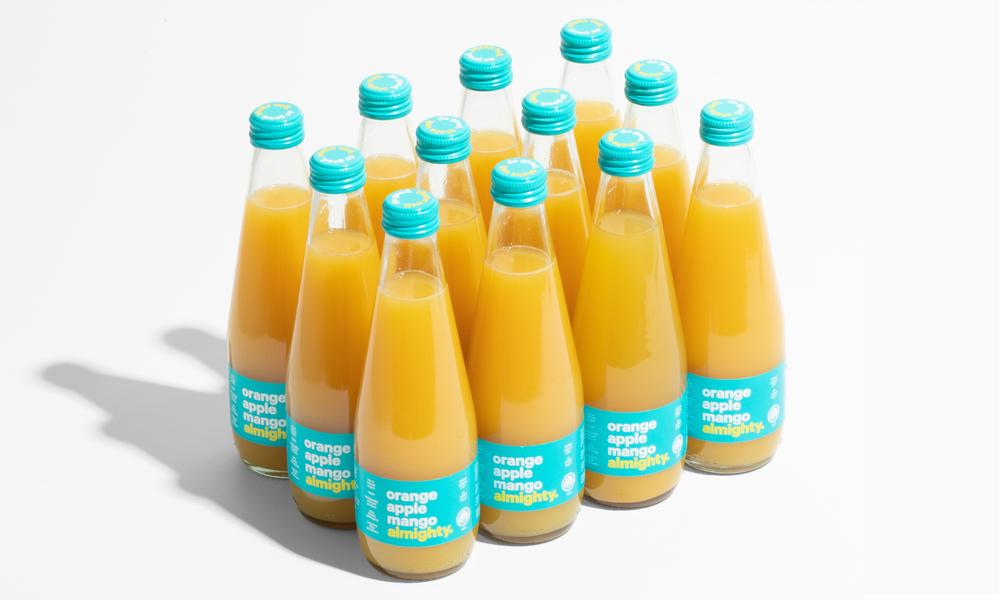 Almighty juice 12pk orange apple mango  web